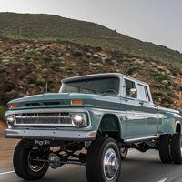 Así es el brutal Chevrolet 'Ponderosa' de Rtech: una enorme pick-up restomod con corazón Dodge