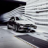 El auto de producción más aerodinámico no es un eléctrico ni un deportivo, es el Mercedes Clase A sedán