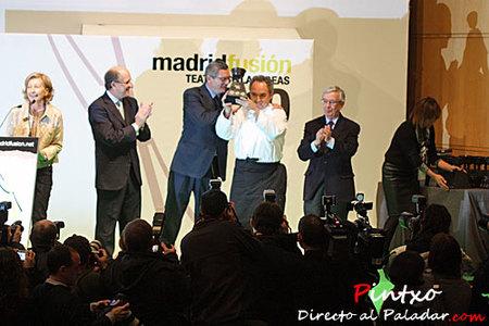Adriá protagonista en la primera jornada de Madrid Fusión