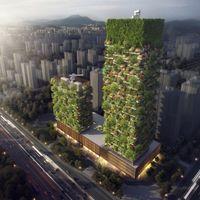 No sabemos si los bosques verticales serán la construcción del futuro, pero son tan bonitos que no nos cansamos de verlos