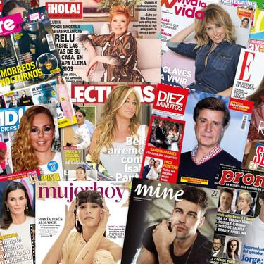 Belén Esteban a por el bebé, parejas sorpresa y muy poco Ponce: estas son las portadas de la prensa rosa de la semana del 29 de julio