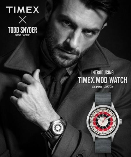 Timex X Todd Snyder Mod Watch: El reloj definitivo para el hombre cosmopolita