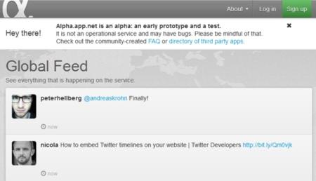 App.net, la alternativa a Twitter de pago, cuenta con 20.000 usuarios tras un mes desde su lanzamiento