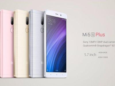 Xiaomi Mi5s Plus 128GB/6GB Edición Internacional por 362 euros y envío gratis