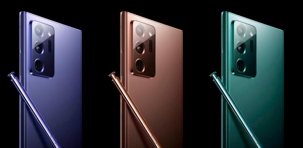 Los Samsung® Galaxy™ Note 20 se presentarán el 5 de agosto, según Ice Universe