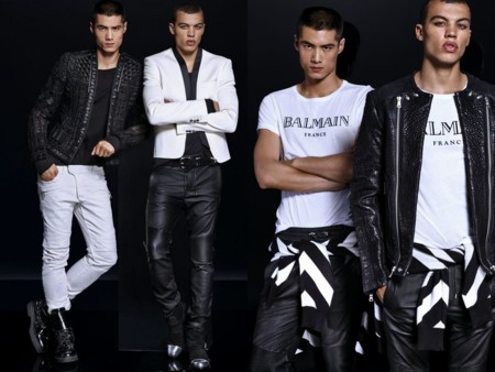 Balmain X Hm Lookbook