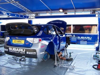 Ford arrasa en el Shakedown turco
