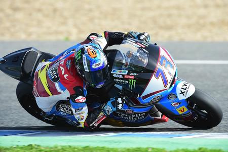 El mejor tiempo de los primeros libres en Moto2 es para Álex Márquez, Franco Morbidelli a rueda