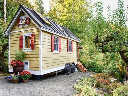 Casas poco convencionales: vivienda mini y sobre ruedas