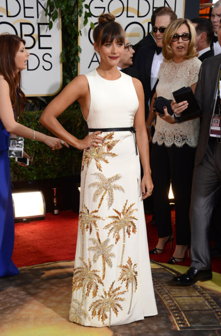 Rashida Jones Globos de Oro 2014
