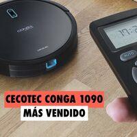 El robot aspirador más vendido de Amazon es español, también friega el suelo y cuesta menos de 150 euros: Cecotec Conga 1090