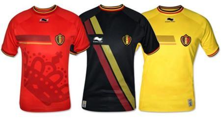 Playera Bélgica