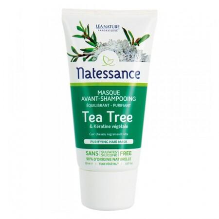 Natessance Masque Avant Shampooing Purifiant Au Tea Tree 150ml