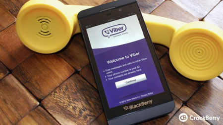 Viber confirmado para BlackBerry 10