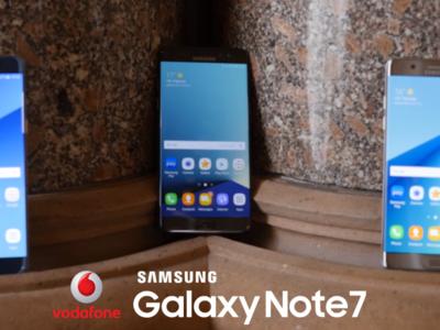 Precios Samsung Galaxy Note 7 con Vodafone y gafas Gear VR de regalo