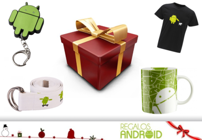 Regalos Android: merchandising oficial