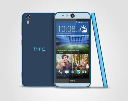 HTC Desire Eye azul