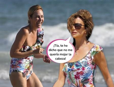 Este es el bañador de la firma Dolores Cortés por el que Ana Milán y Gema López se han convertido en las protagonistas del verano ¡y ahora está rebajado!