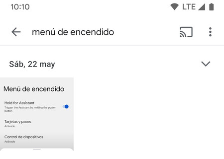 Google Fotos Texto
