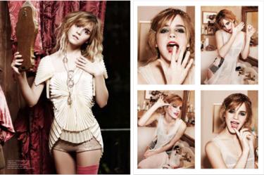 Emma Watson se viste de Cabaret