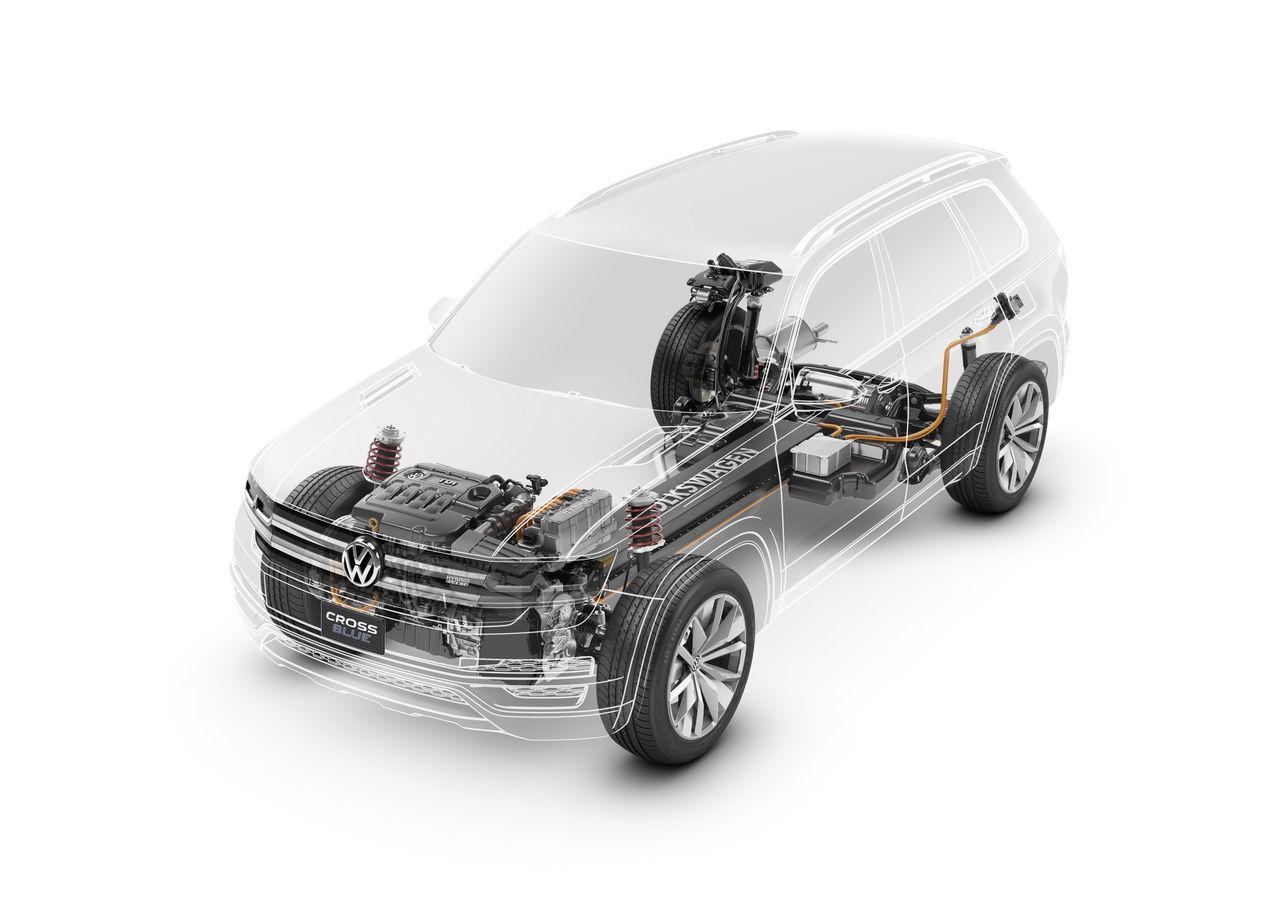Foto de Volkswagen CrossBlue Concept (14/19)