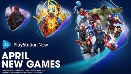 Marvel's Avengers y Borderlands 3 entre los juegos que se unirán a PlayStation Now en abril de 2021