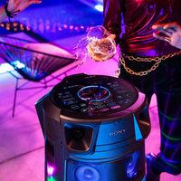 Sony quiere que te montes la fiesta en casa con sus nuevos sistemas de sonido portátiles MHC-V83D y MHC-V73D