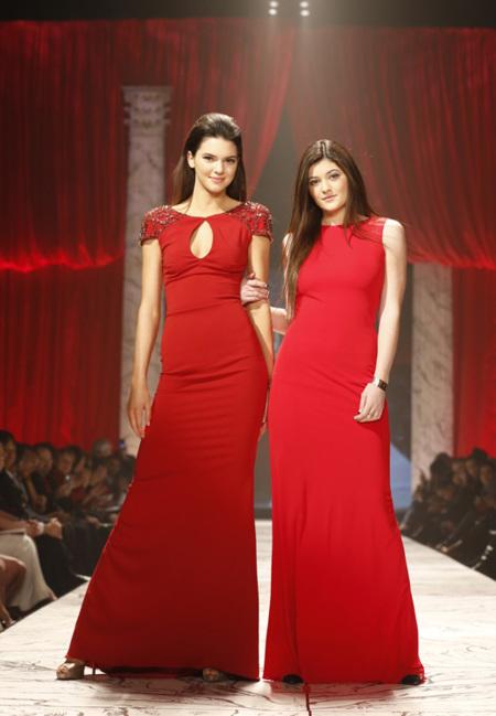 Kendall Jenner rojo