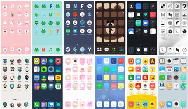 Con Deco, Line quiere invadir las pantallas principales de iOS y Android