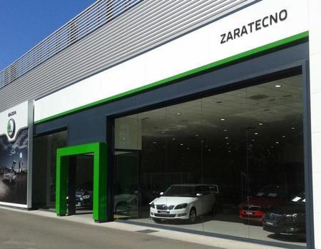 Škoda comienza a incorporar su nueva imagen a los concesionarios españoles