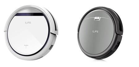 Ofertas del día en Amazon en los robots aspiradores iLife V3s Pro e iLife A4s válidas hasta medianoche