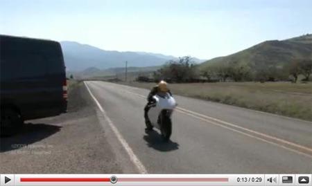 Brammo TTR videos de la prueba