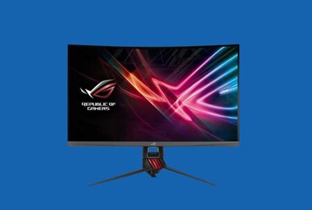 Si buscas monitor gaming de grandes dimensiones y en oferta, ojo a este Asus ROG de 32 pulgadas y 144 Hz rebajado a poco más de 400 euros en Amazon