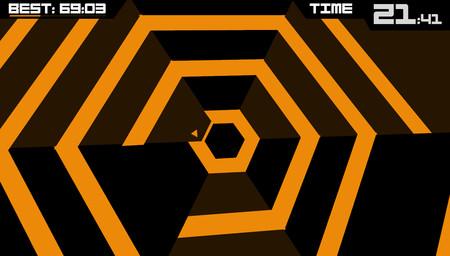 Super Hexagon Pantalla Critica Startvideojuegos