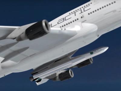 Así se lanzarán satélites al espacio: con un simple avión Boeing 747
