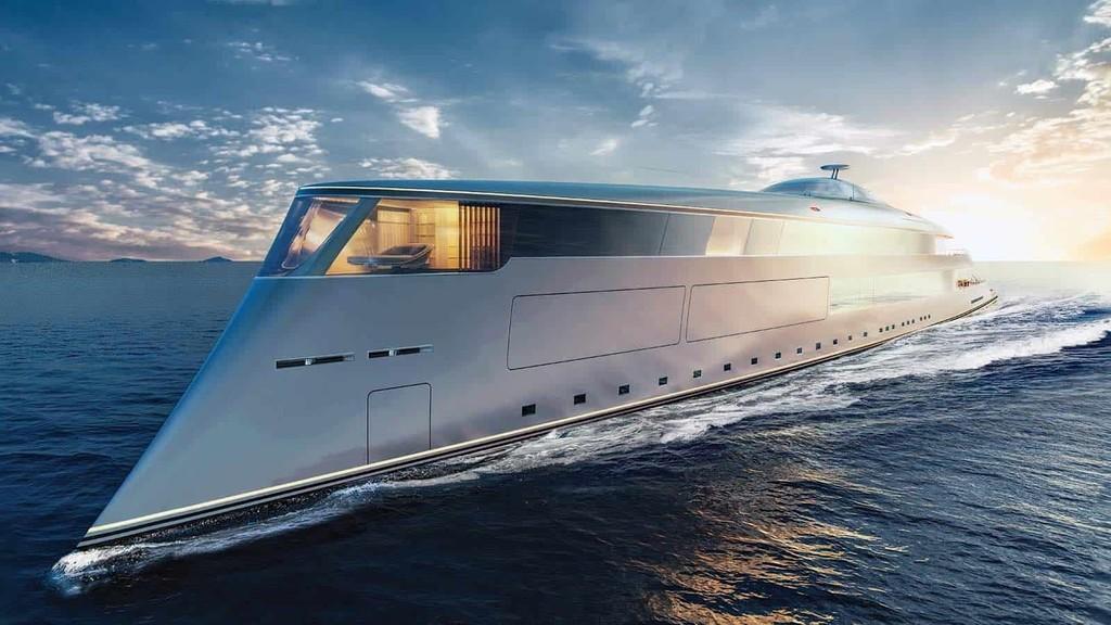 El nuevo juguete de Bill Gates es este barco de hidrógeno con 112 metros de eslora y 6.000 km de autonomía
