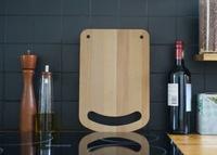 Pon una sonrisa en tu cocina con la tabla de cortar Happy Chopper