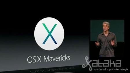 OS X Mavericks disponible a partir de hoy completamente gratis