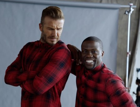 Kevin Hart y David Beckham juntos de nuevo para los 'essentials' de H&M este invierno