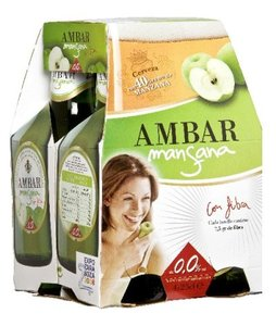 Mansana, cerveza sin alcohol con fibra y fruta