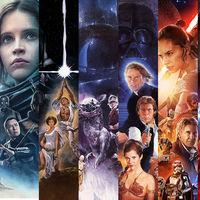 Las 10 películas de 'Star Wars' en un increíble mega trailer de cinco minutos editado por el actor Topher Grace... y sin spoilers