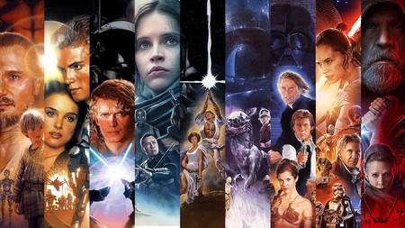 Las 10 películas de 'Star Wars' en un increíble mega trailer de cinco minutos editado por el actor Topher Grace