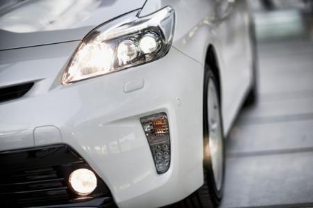 Faros LED en el Toyota Prius III restyling