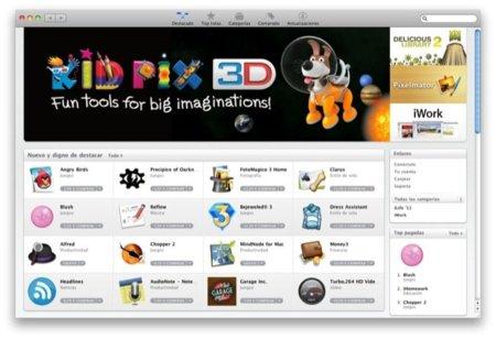 Mac App Store, recorrido visual y algunas curiosidades de la tienda