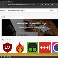 Edge actualiza la interfaz de su tienda de extensiones: ahora es más fácil buscar el complemento que necesitamos