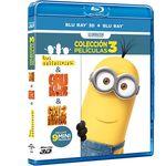 Horas de diversión amarilla en BluRay con el pack de Gru y Los Minions por 19,99 euros en Fnac