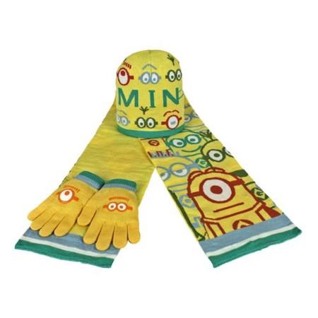 Bufanda y guantes Minions