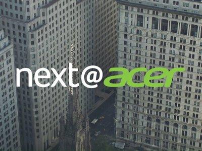 Sigue esta tarde las novedades de Acer en directo y en vídeo en Xataka [Finalizado]