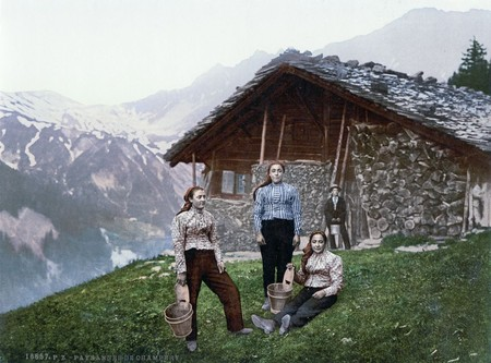 Women Of Champery Valais