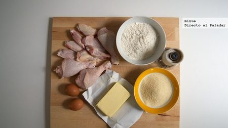 Pollo frito al estilo vienés - ingredientes